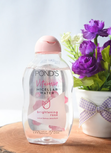 Pond's Vitamin Micellar Water – Brightening Rose
