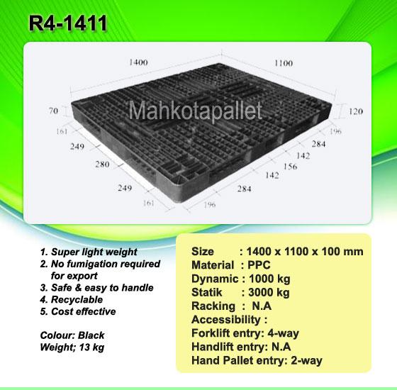 Pallet Plastik R4-1411