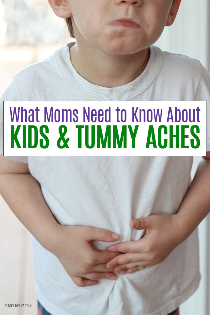 What moms need to know about kids and tummy aches: what causes them, how to take care of them, and when to see the doctor.