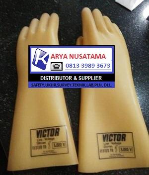 Jual Sarung Tangan Listrik Victor 5KV di Bandung