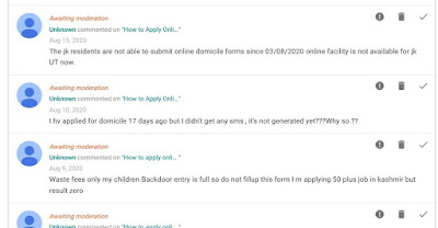 comment section in new blogger interface