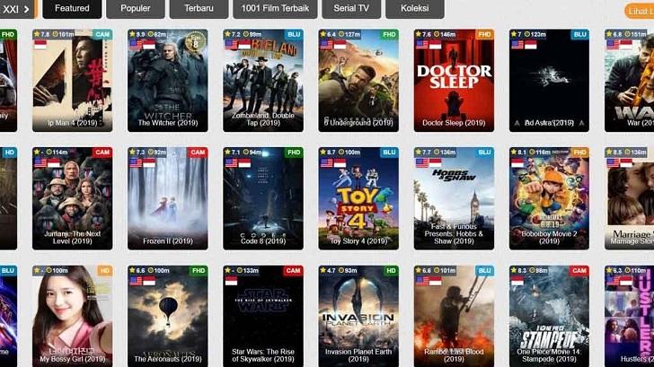 Ternyata, IndoXXI Punya 120 Situs Streaming Film Lain di Luar Indonesia