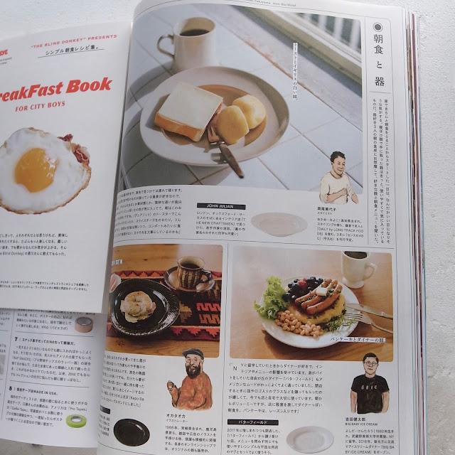POPEYE Magazine Issue 875, 挿絵 イラストレーション