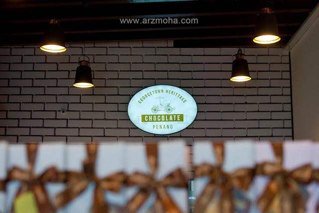 georgetown heritage chocolate penang, kedai coklat di penang, tempah coklat diy penang, kat mana nak buat coklat sendiri, 1st Chocolate Museum in Penang,