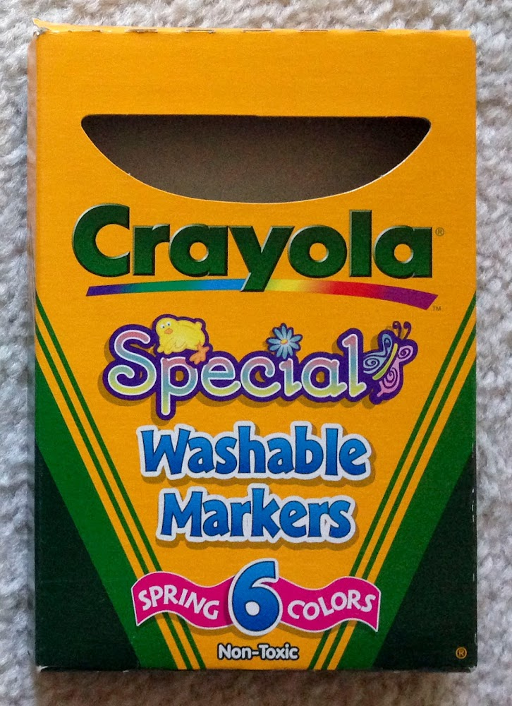 Crayola Special Washable Markers And Crayons Jennys Crayon Collection