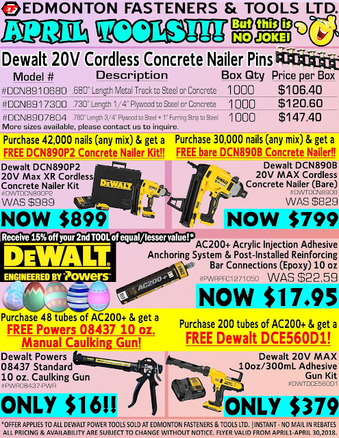 See all April Tools Dewalt Sale Here!