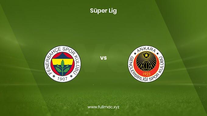 Fenerbahçe - Gençlerbirliği | 14.03.2021 | Full HD izle