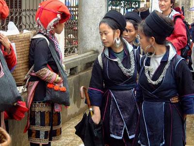Les différences entre les groupes ethniques à Sapa (Vietnam)