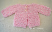 Crochet Baby Cardigan Easy Free Pattern