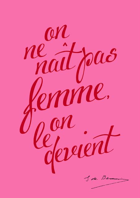 On ne naît pas femme on le devient, Simone de Beauvoir, FLE, le FLE en un 'clic'