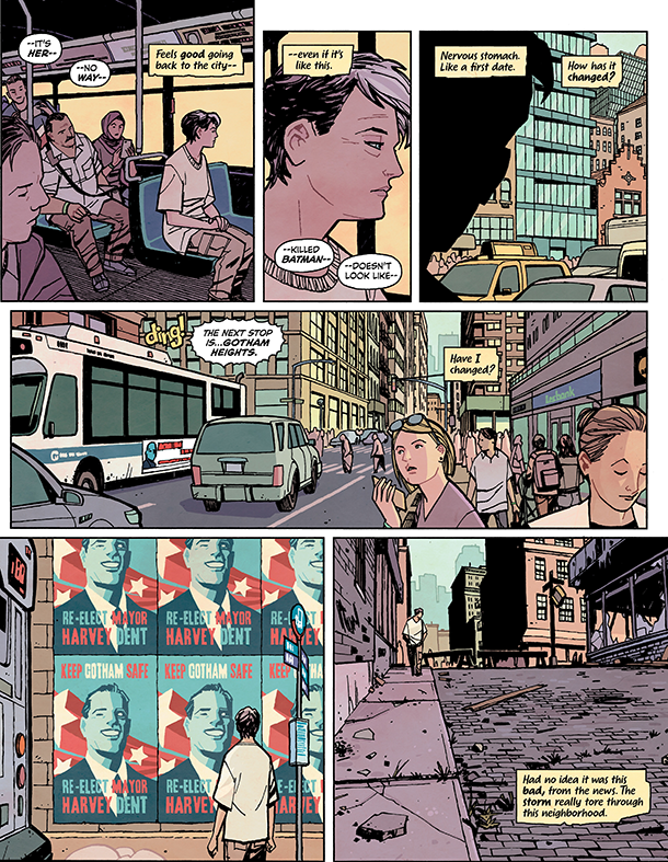 Catwoman: Lonely City #1 - 4