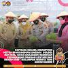 Kapolda Sulsel Resmikan Pekarangan Pangan Lestari Dan Rumah Bibit Kelompok Wanita Tani Anging Mamiri Yang Digagas PD Bhayangkari Sulsel