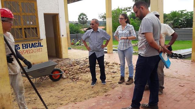 Engenheiros vistoriam início da reconstrução do Terminal Rodoviário de Batalha – PI