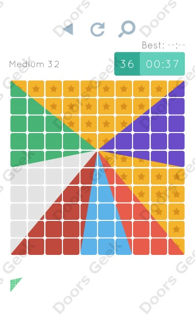 Cheats, Walkthrough for Blocks and Shapes Medium Level 32