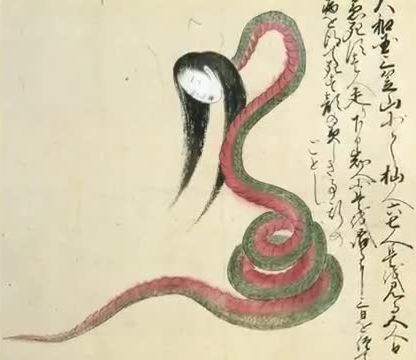 The Snake Woman, scary urban legend, most scary urban legend, scary Japanese urban legend
