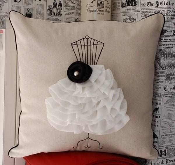 ديكورات أغطية المخدات الفايبر للأريكة - Decorative Cushion Covers For Sofa