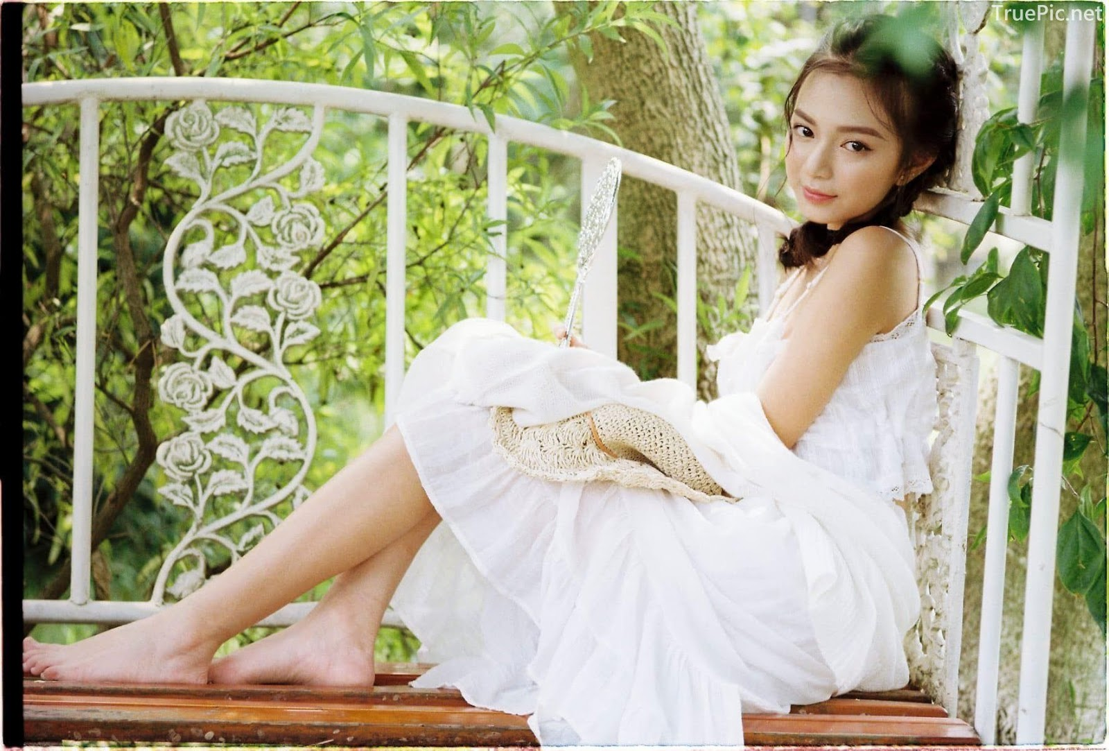 Vietnamese Sexy Model - Vu Ngoc Kim Chi - Beautiful in white - TruePic.net- Picture 36