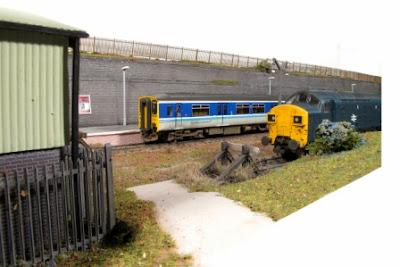 Rhiw model railway layout