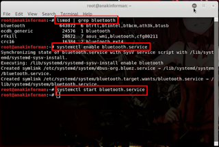 Cara Mengatasi Bluetooth yang Tidak Berfungsi Normal Atau Error Pada Kali Linux 2019.1