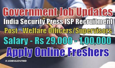 ISP Recruitment 2020