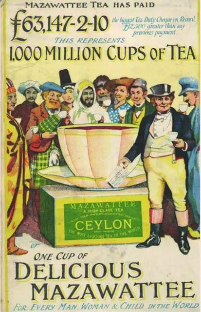 Advertisement for tea in 1890