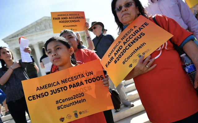 Harvard-Harris Poll: majority of Hispanic voters–55 percent–approve of a citizenship question on the 2020 census