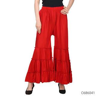 Women's Trendy Rayon Solid Sharara's