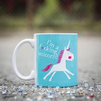 Geschenkideen aus dem Onlineshop Radbag.de - Einhorn Tasse