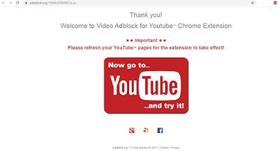 blokir iklan youtube