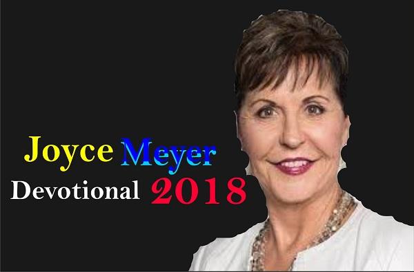 Joyce Meyer 2018 Devotional