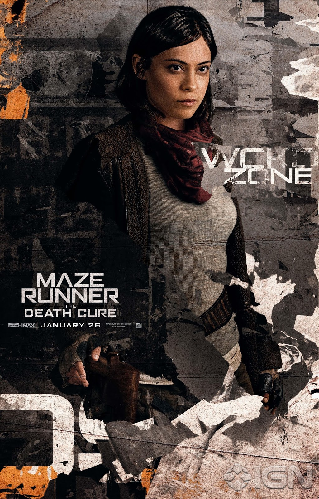 6 New 'Maze Runner: The Death Cure' Character Posters ...