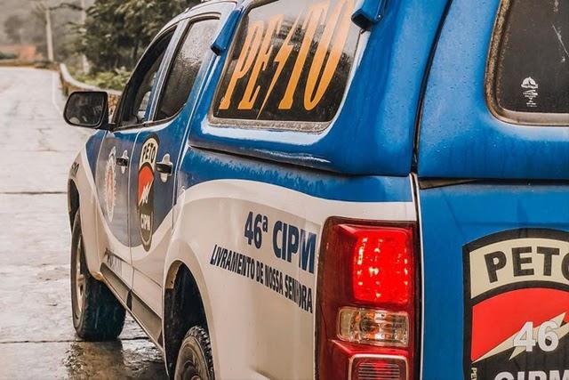 Homem é morto a tiros na zona rural de Livramento de Nossa Senhora