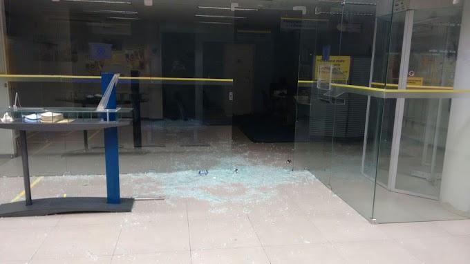 Quadrilha apavora população de Madalena em tentativa frustrada de roubo a banco