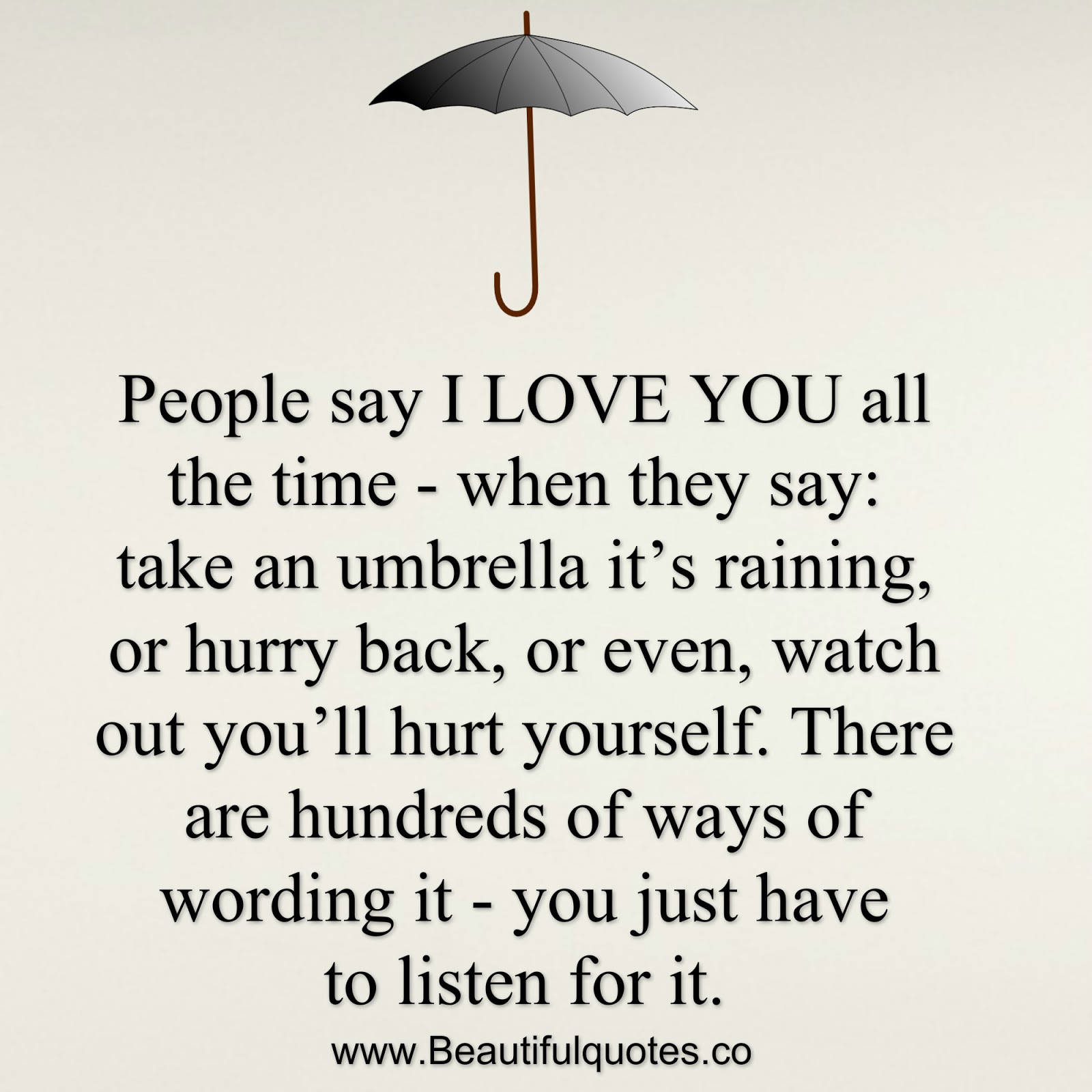 I Love You Quotes When I Say More: People Say I Love You All The Time