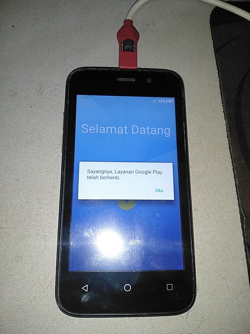 Advan S4Z Plus Layanan Google Play Telah Terhenti