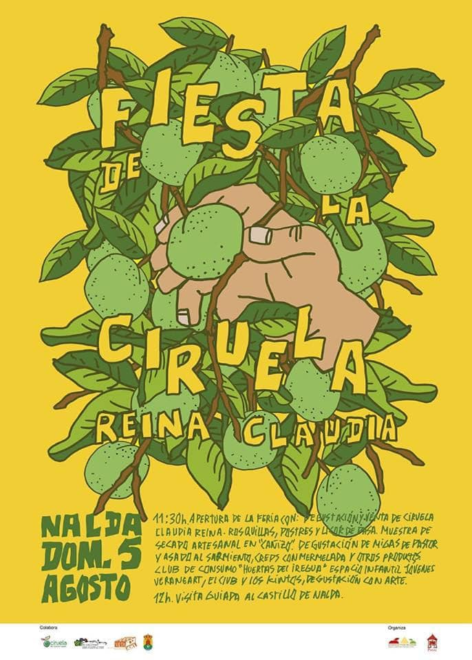 La Rioja de la A a la Z: FIESTA DE LA CIRUELA REINA CLAUDIA - Nalda 2018