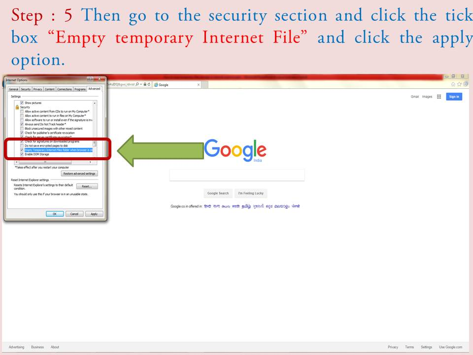how to clean internet explorer temporary files