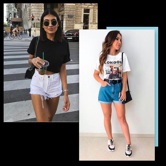 Queridinho da moda: Shorts jeans!