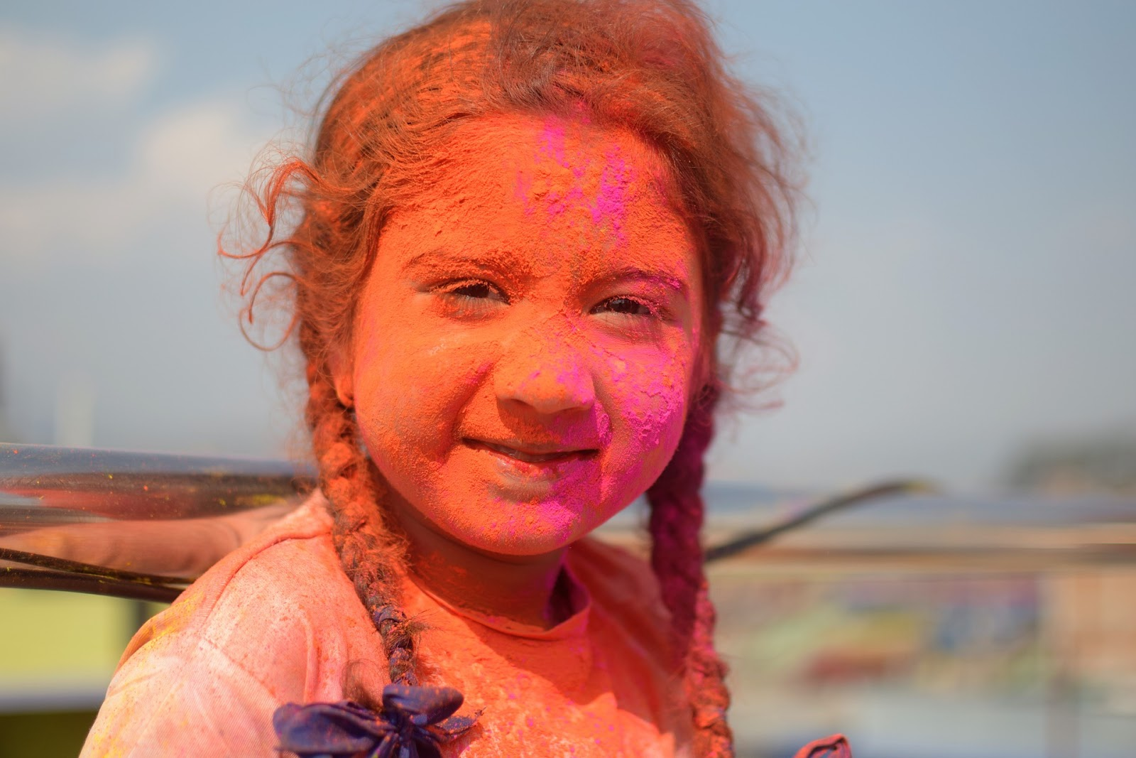 What is Holi in India 2020 - kids with colors -nepal kids with holi colors