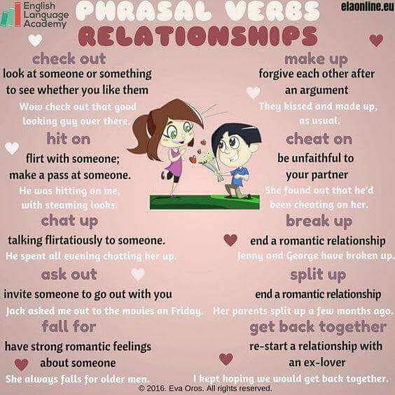 Learn Phrasal Verbs for Relationships