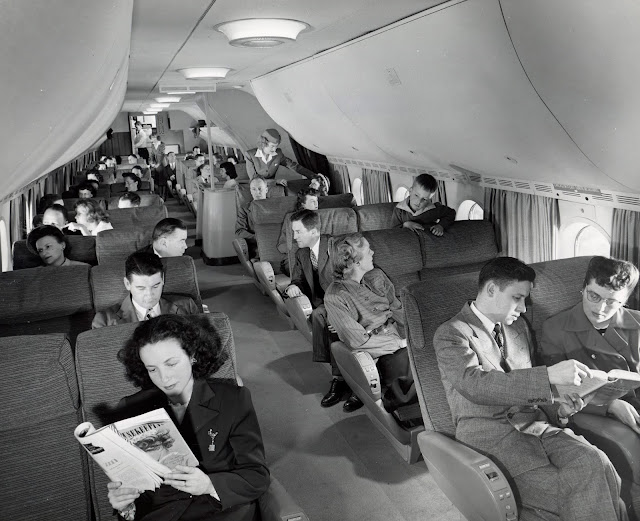 Boeing 377 Stratocruiser | Pan American World Airways koltuk düzeni