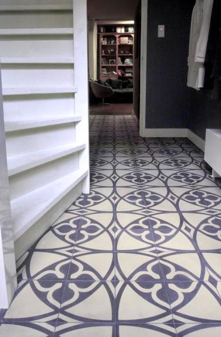 Rosa Beltran Design Inspired By Cement Encaustic Tile
