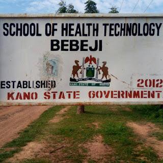 School of Health Tech Bebeji Admission Form 2021/2022