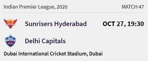 delhi capitals match 12 ipl 2020