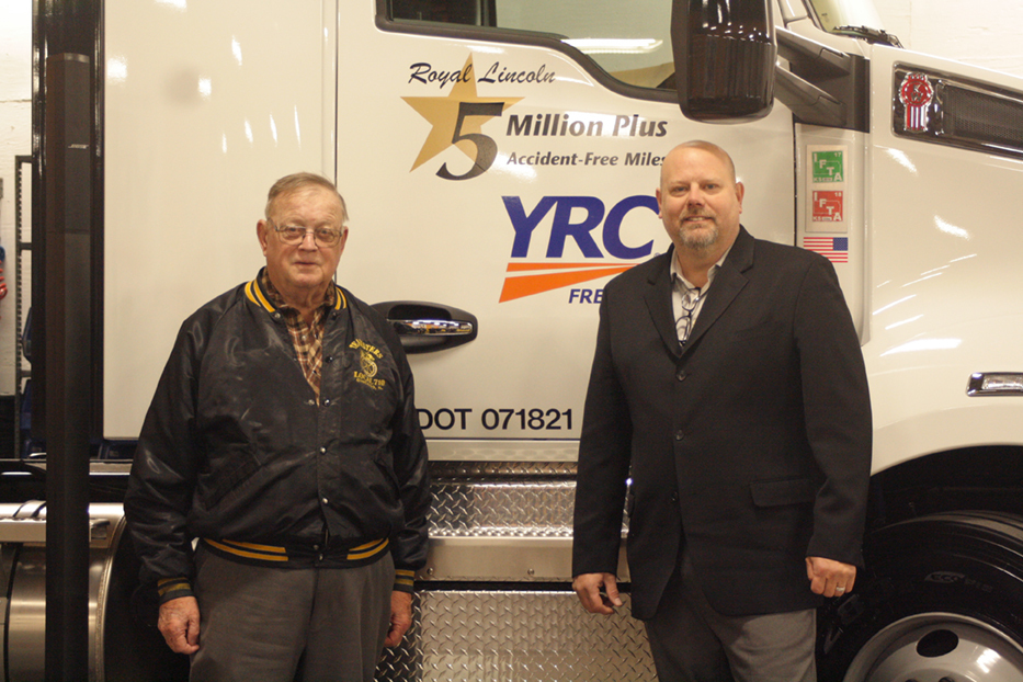 FREIGHT TEAMSTERS: Local 710 YRC Road Driver Roy Lincoln