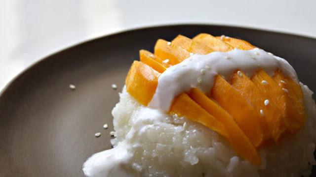 Resep Mango Sticky Rise Khas Thailand