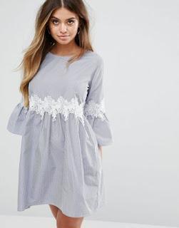 robe crochet boohoo - asos