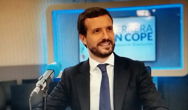 """Casado acusa a Sánchez de mentir y advierte: """"La paciencia esta al límite, menos mítines y más eficacia"""""""