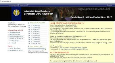 alamat website sergur unesa