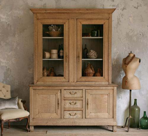 Antique Armoire Extraordinary Flemish Oak Deaux Corps from 1850. Amazing scale and original hardware. Great example of flemish steadfast construction and design. A true show-stopper! 94H x 67W x 22D as seen on l&l
